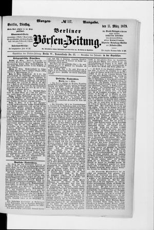 Berliner Börsen-Zeitung vom 11.03.1879