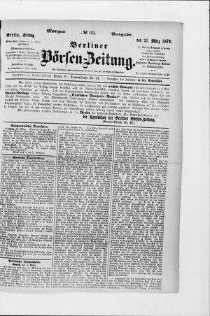 Berliner Börsen-Zeitung vom 21.03.1879