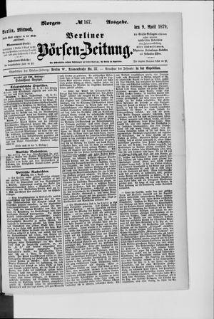 Berliner Börsen-Zeitung vom 09.04.1879