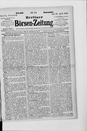 Berliner Börsen-Zeitung vom 12.04.1879