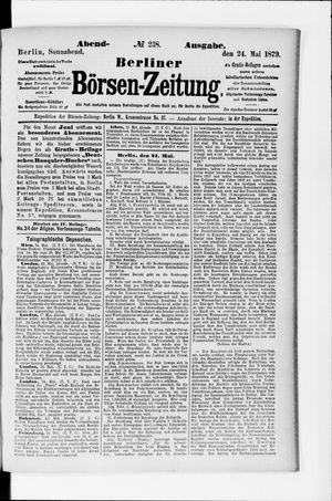 Berliner Börsen-Zeitung vom 24.05.1879