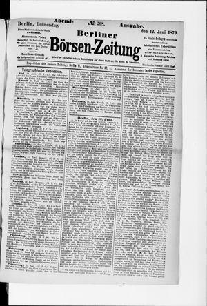 Berliner Börsen-Zeitung vom 12.06.1879
