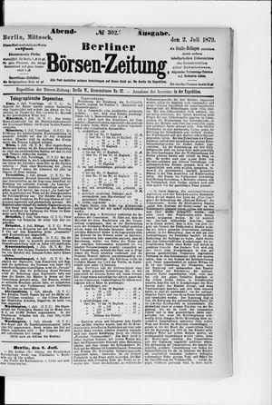 Berliner Börsen-Zeitung vom 02.07.1879