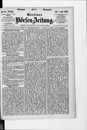 Berliner Börsen-Zeitung vom 08.07.1879