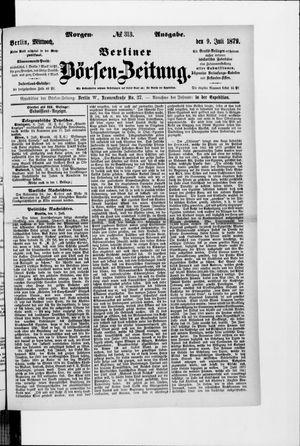 Berliner Börsen-Zeitung vom 09.07.1879