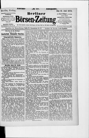 Berliner Börsen-Zeitung vom 11.07.1879