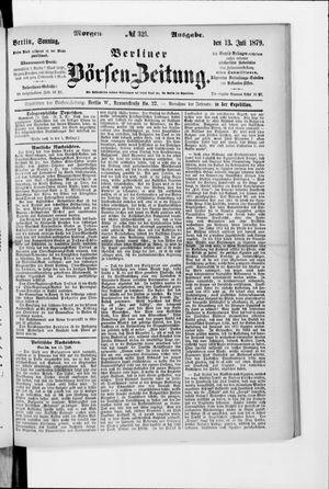 Berliner Börsen-Zeitung vom 13.07.1879
