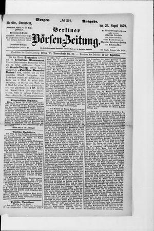 Berliner Börsen-Zeitung vom 23.08.1879