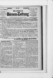 Berliner Börsenzeitung (23.06.1880)