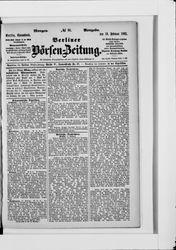 Berliner Börsenzeitung (19.02.1881)