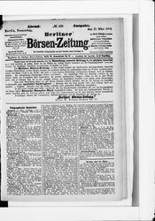 Berliner Börsenzeitung (17.03.1881)