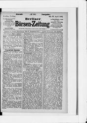 Berliner Börsenzeitung (22.04.1881)