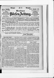 Berliner Börsenzeitung (22.09.1881)