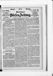Berliner Börsen-Zeitung (14.12.1881)