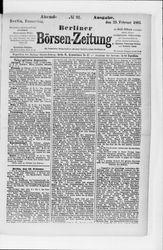 Berliner Börsenzeitung (23.02.1882)