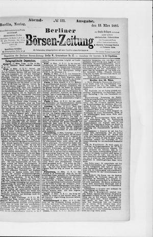 Berliner Börsen-Zeitung vom 13.03.1882
