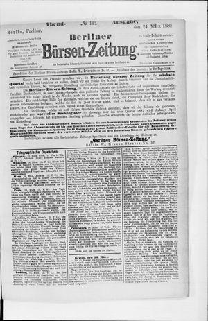 Berliner Börsen-Zeitung vom 24.03.1882
