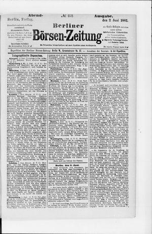 Berliner Börsen-Zeitung on Jun 2, 1882