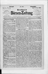 Berliner Börsenzeitung (19.06.1882)