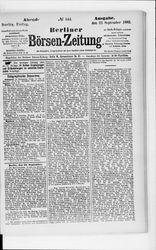 Berliner Börsenzeitung (22.09.1882)