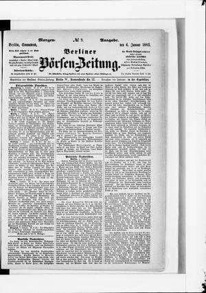 Berliner Börsen-Zeitung vom 06.01.1883