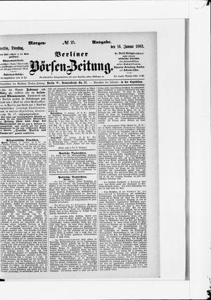 Berliner Börsen-Zeitung vom 16.01.1883