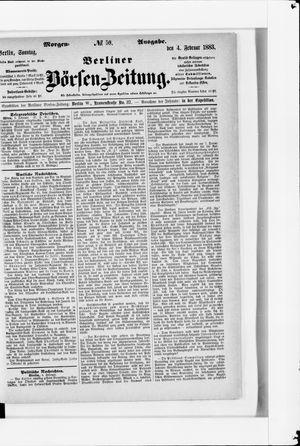 Berliner Börsen-Zeitung vom 04.02.1883