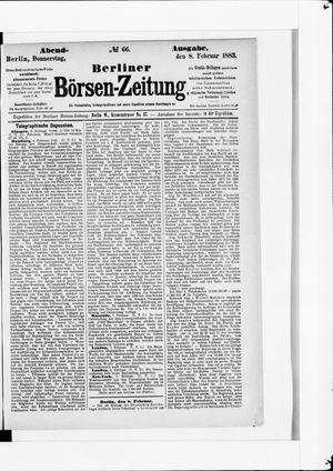 Berliner Börsen-Zeitung vom 08.02.1883