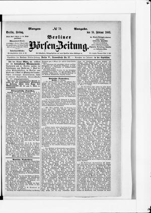 Berliner Börsen-Zeitung vom 16.02.1883
