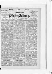 Berliner Börsenzeitung (20.02.1883)