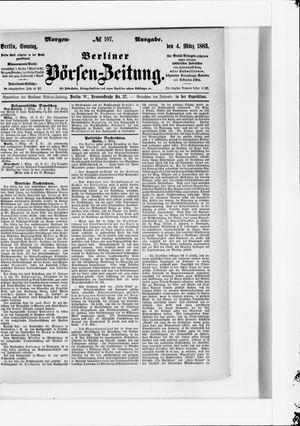 Berliner Börsen-Zeitung vom 04.03.1883
