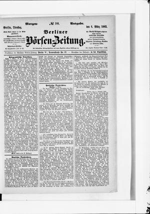 Berliner Börsen-Zeitung vom 06.03.1883