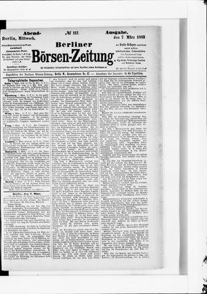 Berliner Börsen-Zeitung vom 07.03.1883