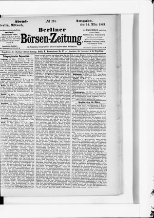 Berliner Börsen-Zeitung vom 14.03.1883