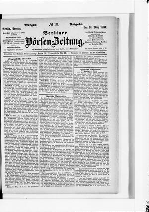 Berliner Börsen-Zeitung vom 18.03.1883