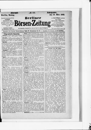 Berliner Börsen-Zeitung vom 19.03.1883
