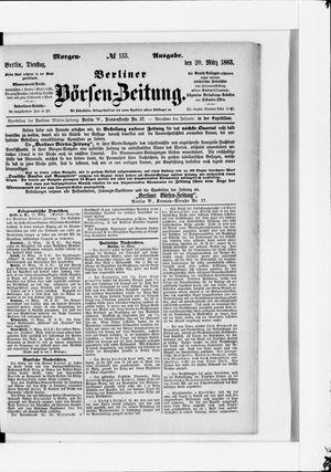 Berliner Börsen-Zeitung vom 20.03.1883
