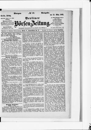 Berliner Börsen-Zeitung vom 23.03.1883