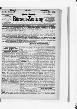 Berliner Börsen-Zeitung vom 24.03.1883