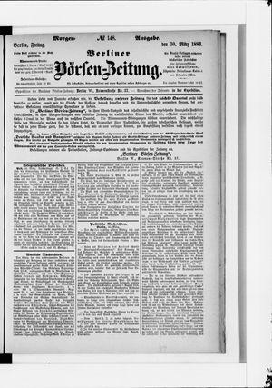 Berliner Börsen-Zeitung vom 30.03.1883