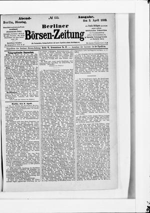 Berliner Börsen-Zeitung on Apr 3, 1883