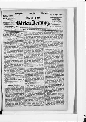 Berliner Börsen-Zeitung vom 08.04.1883