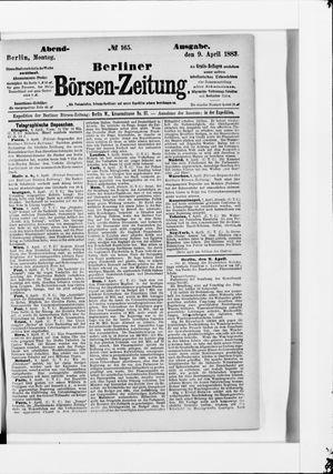 Berliner Börsen-Zeitung vom 09.04.1883