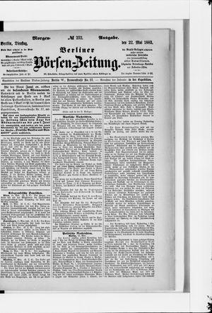Berliner Börsen-Zeitung vom 22.05.1883