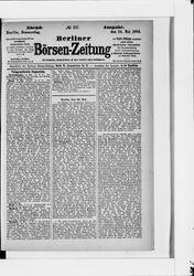 Berliner Börsenzeitung (24.05.1883)