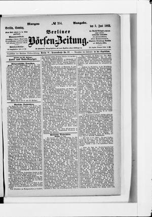 Berliner Börsen-Zeitung vom 03.06.1883