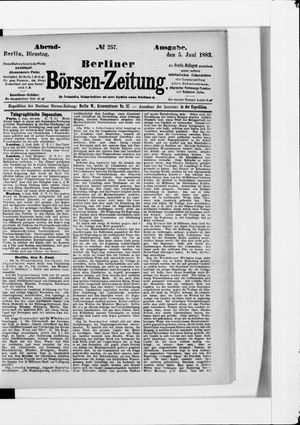 Berliner Börsen-Zeitung vom 05.06.1883