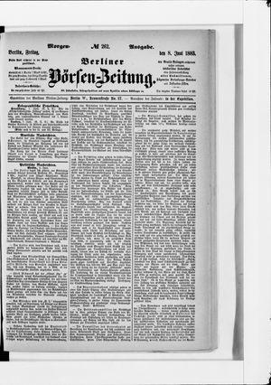 Berliner Börsen-Zeitung vom 08.06.1883