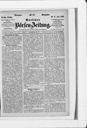 Berliner Börsen-Zeitung vom 12.06.1883