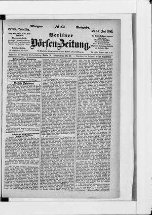 Berliner Börsen-Zeitung vom 14.06.1883